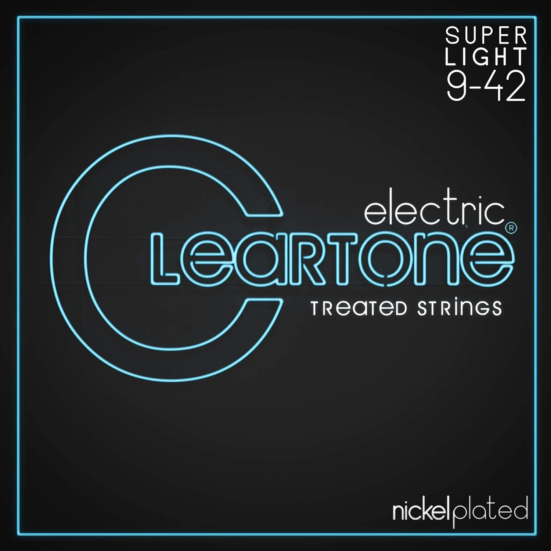 Cleartone 9409 - Cuerdas de guitarra eléctrica, calibre 9-42