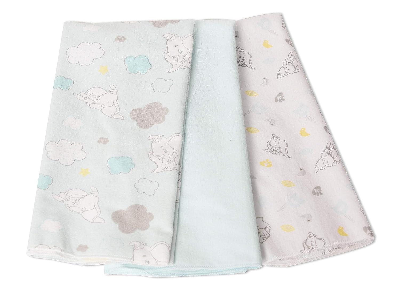 Dumbo 3 Pack Receiving Blankets