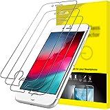 JETech Protector de Pantalla Compatible iPhone SE 2020, iPhone 8, iPhone 7, iPhone 6s, iPhone 6, Vidrio Templado, 3…