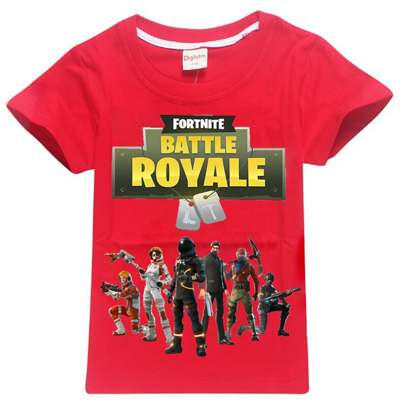 SERAPHY T-Shirt en Coton à Manches Courtes Fortnite T-Shirts Enfants Merveilleux Cadeaux Les Garçons