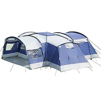 Skandika - Tente familiale Nimbus - Pour 12 personnes Bleu  sc 1 st  Amazon & Skandika - Tente familiale Nimbus - Pour 12 personnes Bleu: Amazon ...