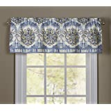 Waverly 15542052016LAP Over The Moon 52-Inch by 16-Inch Window Valance, Lapis