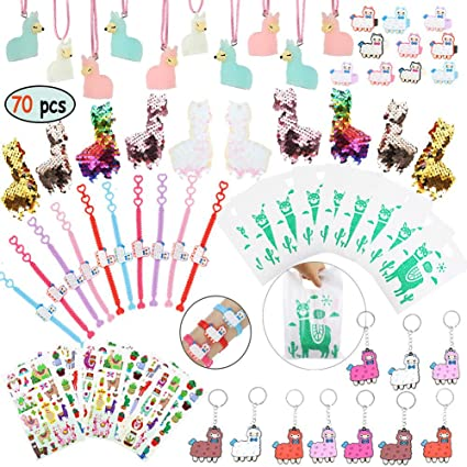 Amazon.com: Llama Party Favors Supplies – Pulsera de llama ...