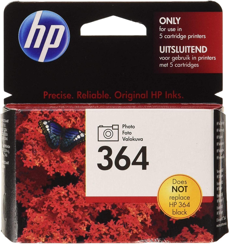 HP CB317EE 364 Cartucho de Tinta fotográfica Original, 1 unidad: Amazon.es: Oficina y papelería