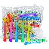 Hookah Tips Disposable Hookah Mouth Tips Individual Wrapped Male Mouth Tips Inside Fitting/Male (Pack of 50 Extra Long)