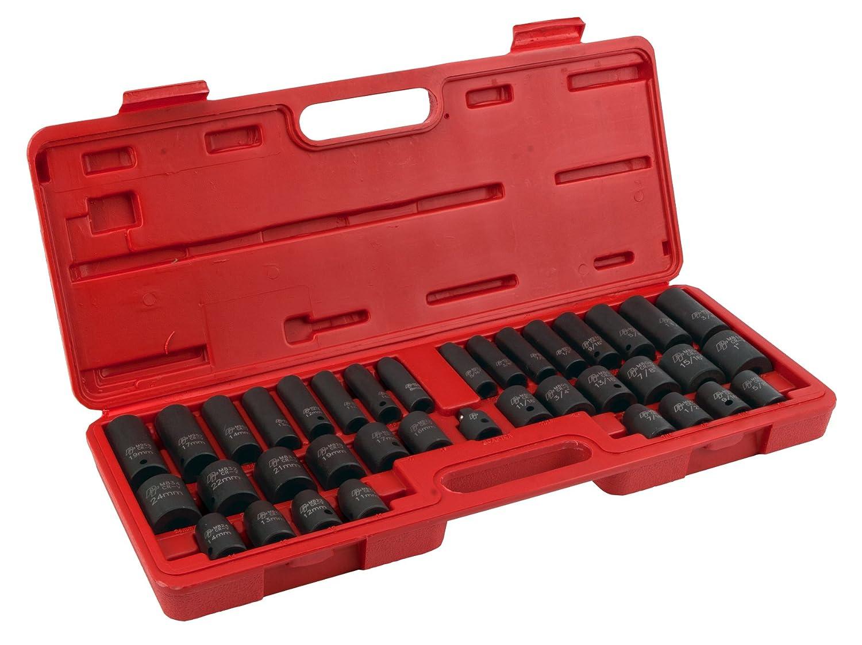 Performance Tool M796 38-Piece Impact Socket Set
