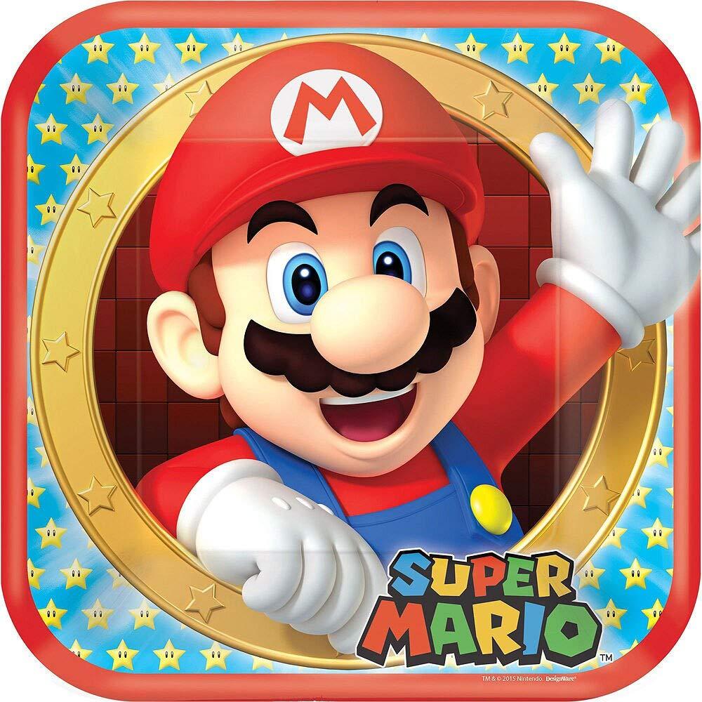 Amazon.com: Party City Super Mario - Kit de fiesta para 16 ...