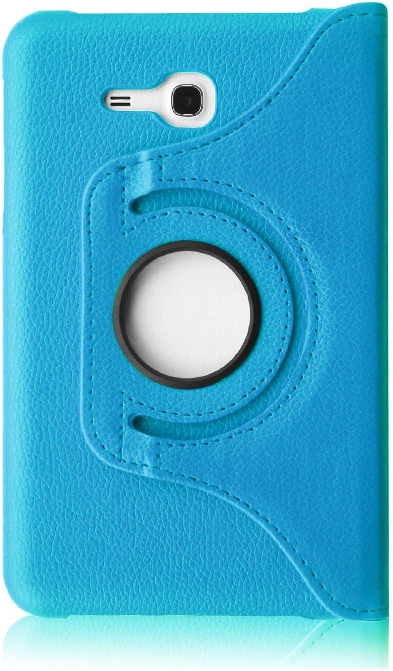 VAVA Light blue suntuarios-360 PU-cuero-schiaffo-soporte Smart Auto Wake/Sleep-ser-cubierta para Samsung Galaxy Tab 3 Lite 7.0-pulgadas-tablet SM-T110 T111: Amazon.es: Electrónica