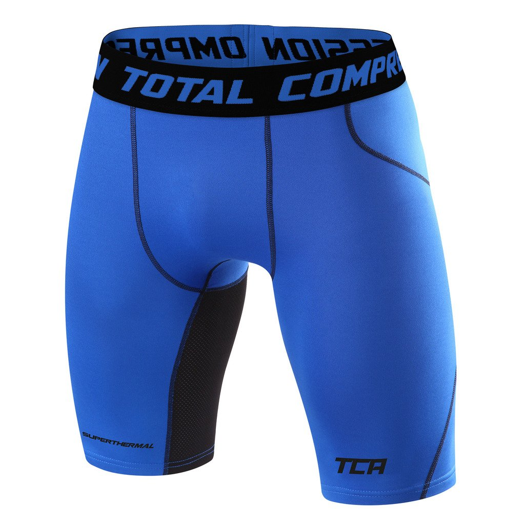 メンズBoys TCA SuperThermal圧縮ベースレイヤーThermal Under Shorts B00OJDQGV6 Medium|Varsity Royal Varsity Royal Medium