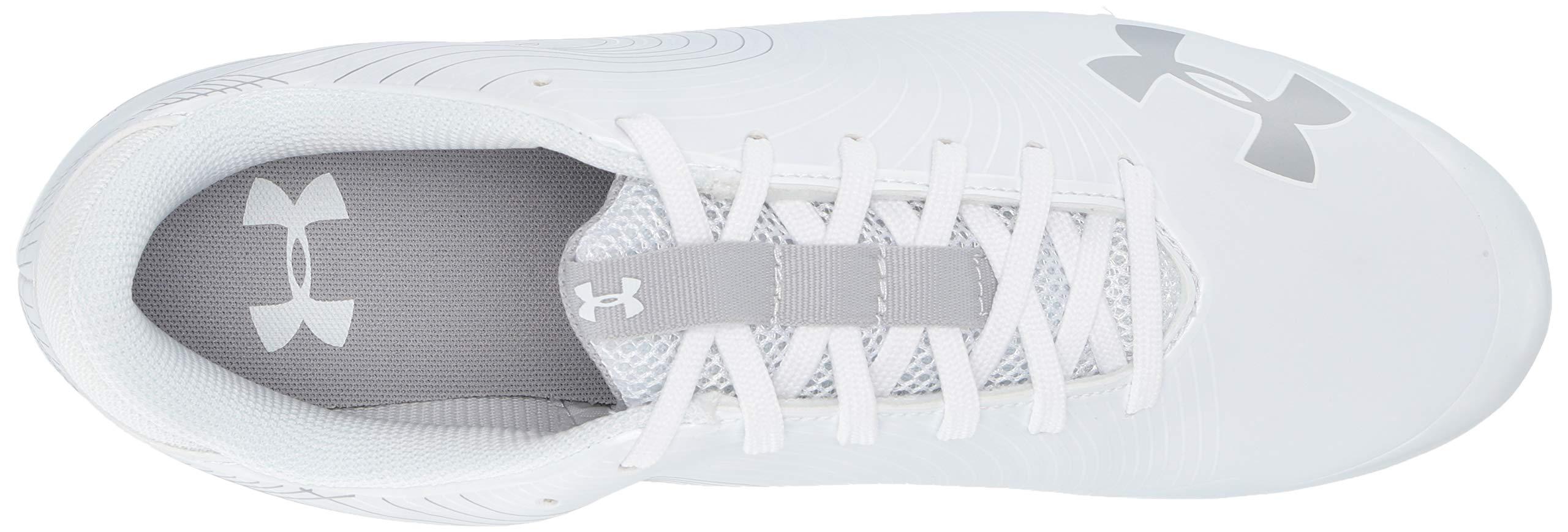 Under Armour Men's Speed Phantom MC Football Shoe, White/White, 7.5 M US by Under Armour (Image #7)