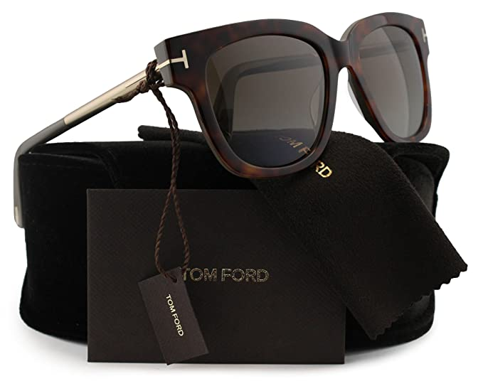 726ec7d887 Image Unavailable. Image not available for. Colour  TOM FORD FT0436 Tracy  Polarized Sunglasses Havana w Brown Gradient (56H) TF 436