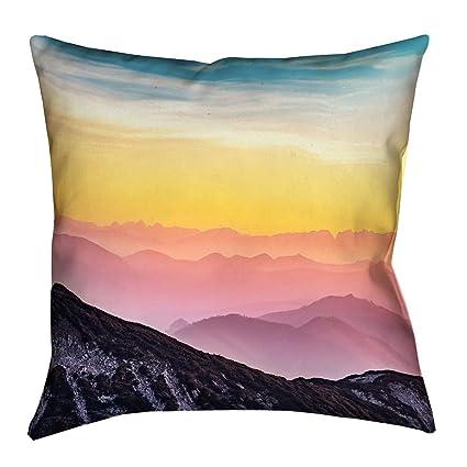 60 x 40 Fleece Blankets Kess InHouse Susan Sanders Sky Ocean Palm Trees Blue Green Photography Throw