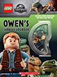 Owen's Jurassic Logbook (wth Owen minifigure and mini Blue Raptor) (LEGO Jurassic World)