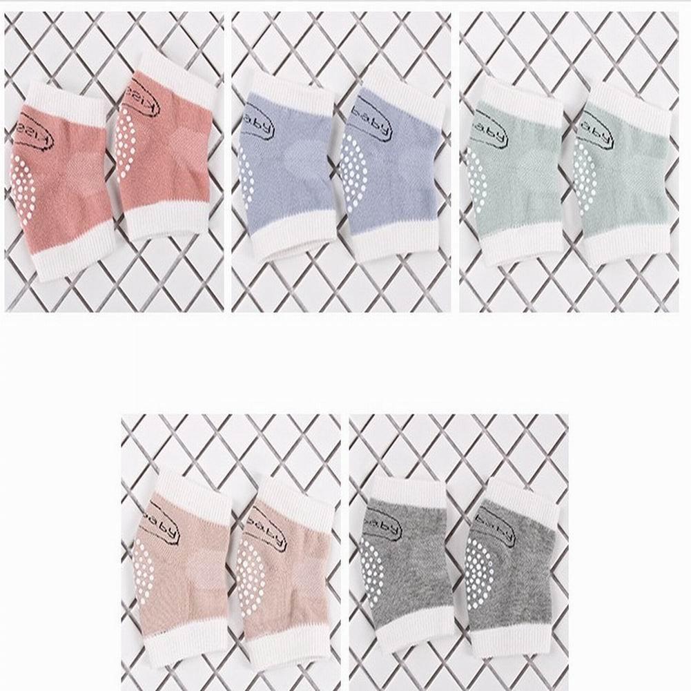 bonnio 5Farben Infant Kleinkind Baby Verstellbare elastische Knieschoner Ellenbogen Pad, Wärmer Wärmer