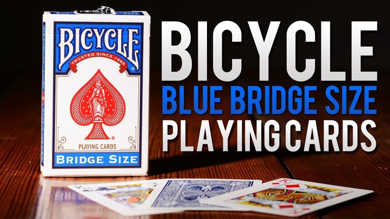 Caja de barajas BICYCLE Bridge (12 Rojo): Amazon.es: Juguetes y juegos