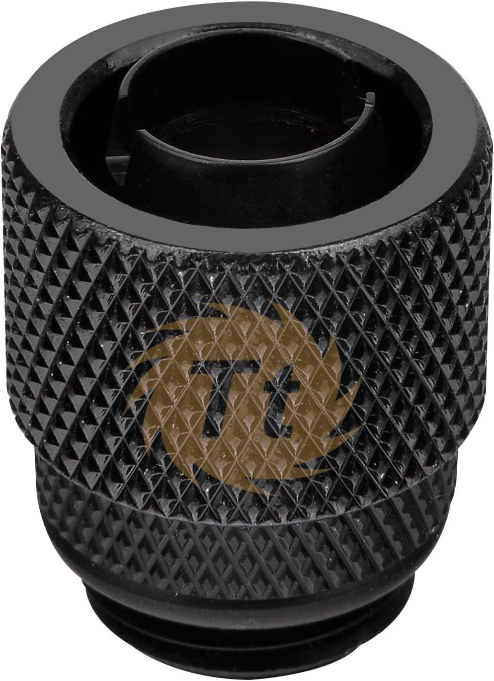 Adaptateur de Compression 3//8 vers 1//2 Noir Accessoire Watercooling Thermaltake Pacific 3//8