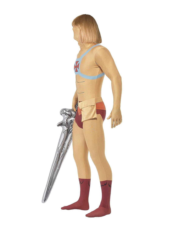 Smiffys He-Man Second Skin con Bum Bag / Oculta Mosca y bajo la ...