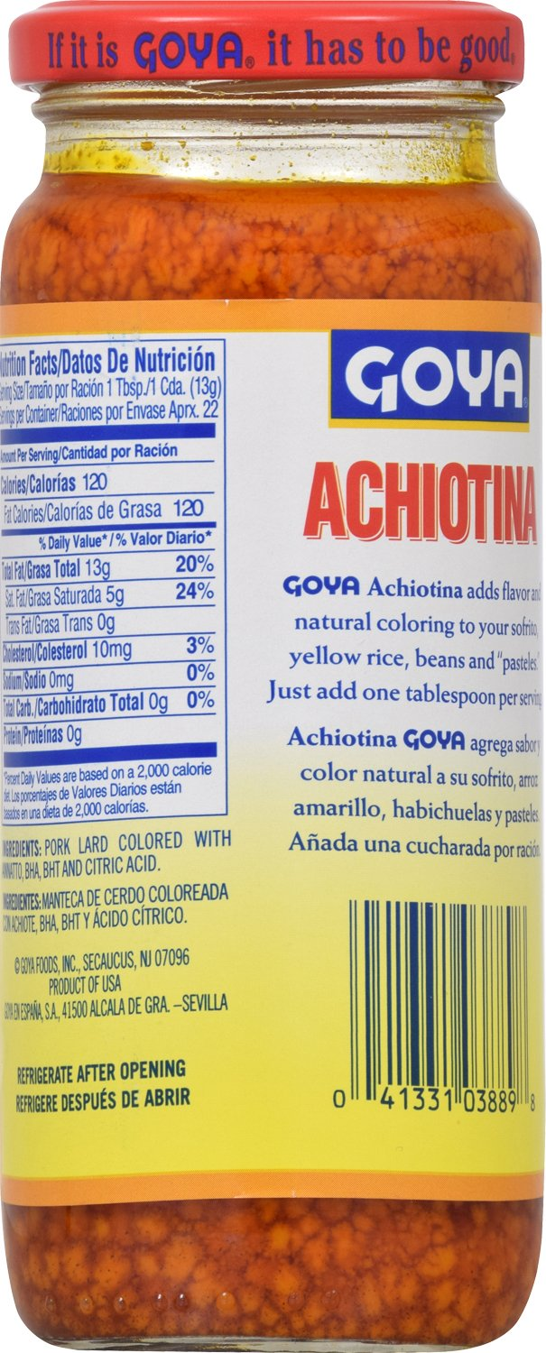 Amazon.com : Goya Foods Achiotina, 5-Ounce (Pack of 24) : Gourmet Sauces : Grocery & Gourmet Food