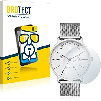 BROTECT Protector Pantalla Cristal Compatible con Skagen Hagen ...