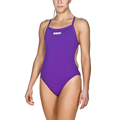 100% authentifiziert beste Qualität für beliebte Geschäfte arena Damen Trainings Profi Badeanzug Solid Lighttech High  (Schnelltrocknend, UV-Schutz, Chlorresistent)
