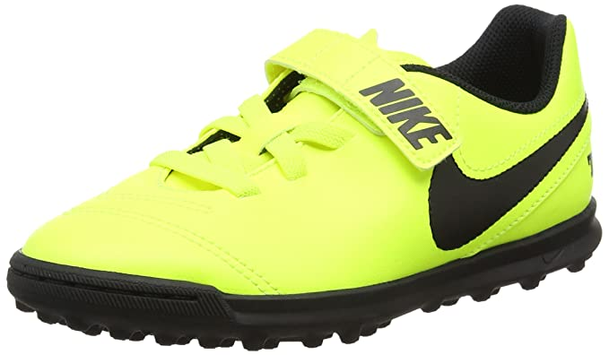 cheap for discount a260c ca922 Nike Jr. Tiempox Rio III (V) TF, Scarpe da Calcio Unisex - Bambini ...