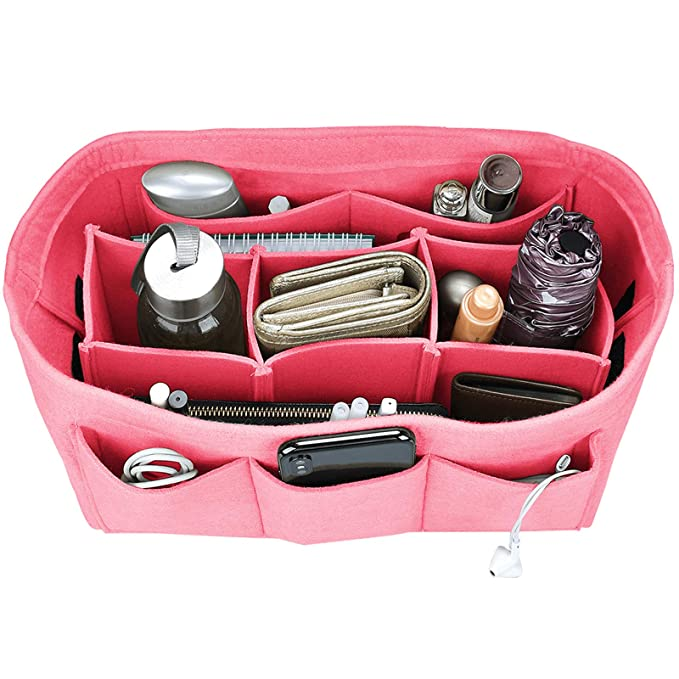 Styleys Baby Pink Handbag Organizer For Easy Handbag Switching (Baby Pink)(Pink)