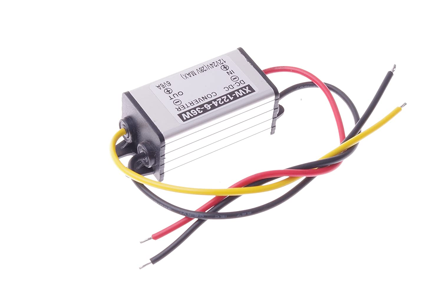 Smakn Dc 12v To 6v 6a 36w Buck Power Converter Simple 3v Circuit Electronics Projects Step Down Supply Waterproof Automotive