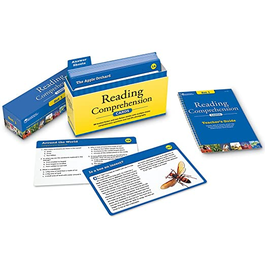 Amazon.com: Learning Resources Reading Comprehension Card Set 1 ...