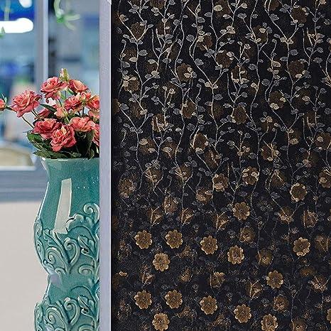 Tie Z Schwarz Schatten Glasfolie Blickdicht Fenster Sonnenschutz Isolierfolie Schlafzimmer Badezimmer Licht Schatten Aufkleber 80x300cm B Amazon De Kuche Haushalt
