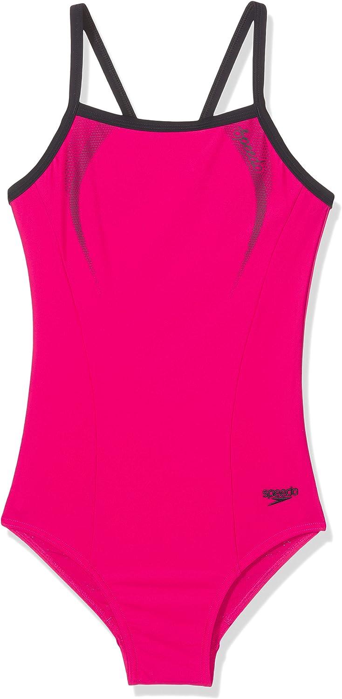 Badeanzug Speedo Girl s Sports Logo Thinstrap Muscleback Badeanzug