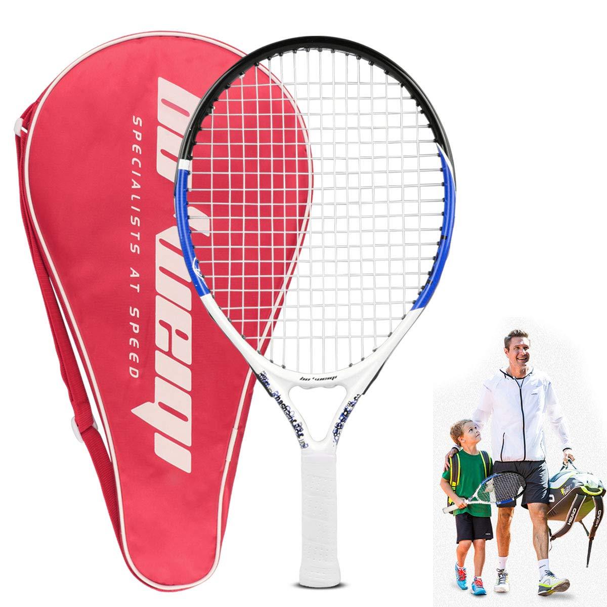 Calmare Raqueta de Tenis, Raqueta de Tenis de Aluminio Incluyendo Bolsa de Tenis-Raquetas