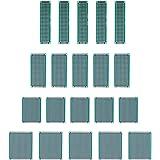 Jocestyle 10 Pcs Double-Side Prototype PCB Universal Printed Circuit Board (10pcs 2x8cm)