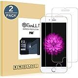 EasyULT Vetro Temperato per iPhone 6 Plus / 6S Plus [2-Pack], Pellicola Protettiva Vetro Temperato per iPhone 6 Plus / 6S Plus Screen Protector Film Ultra Resistente