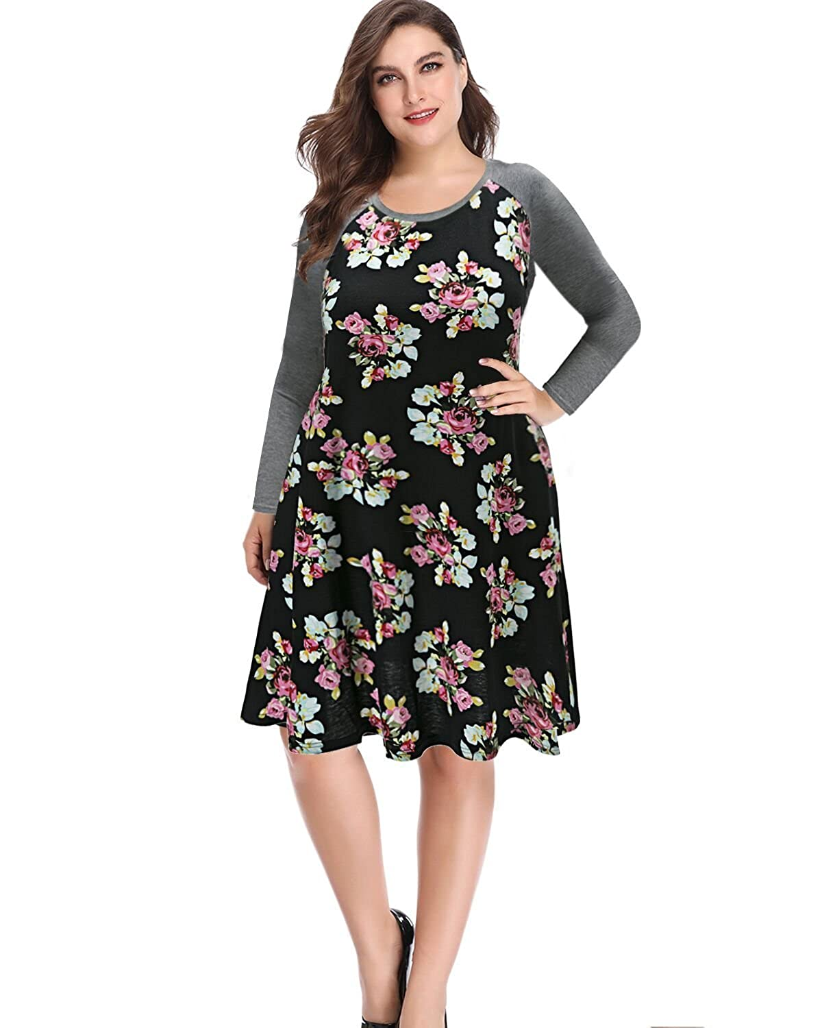 d98e093f0a It is comfortable well-made casual dress should fit everybody. With  gorgeous scalloped and classic A-line skirt, you\'ll feel ...