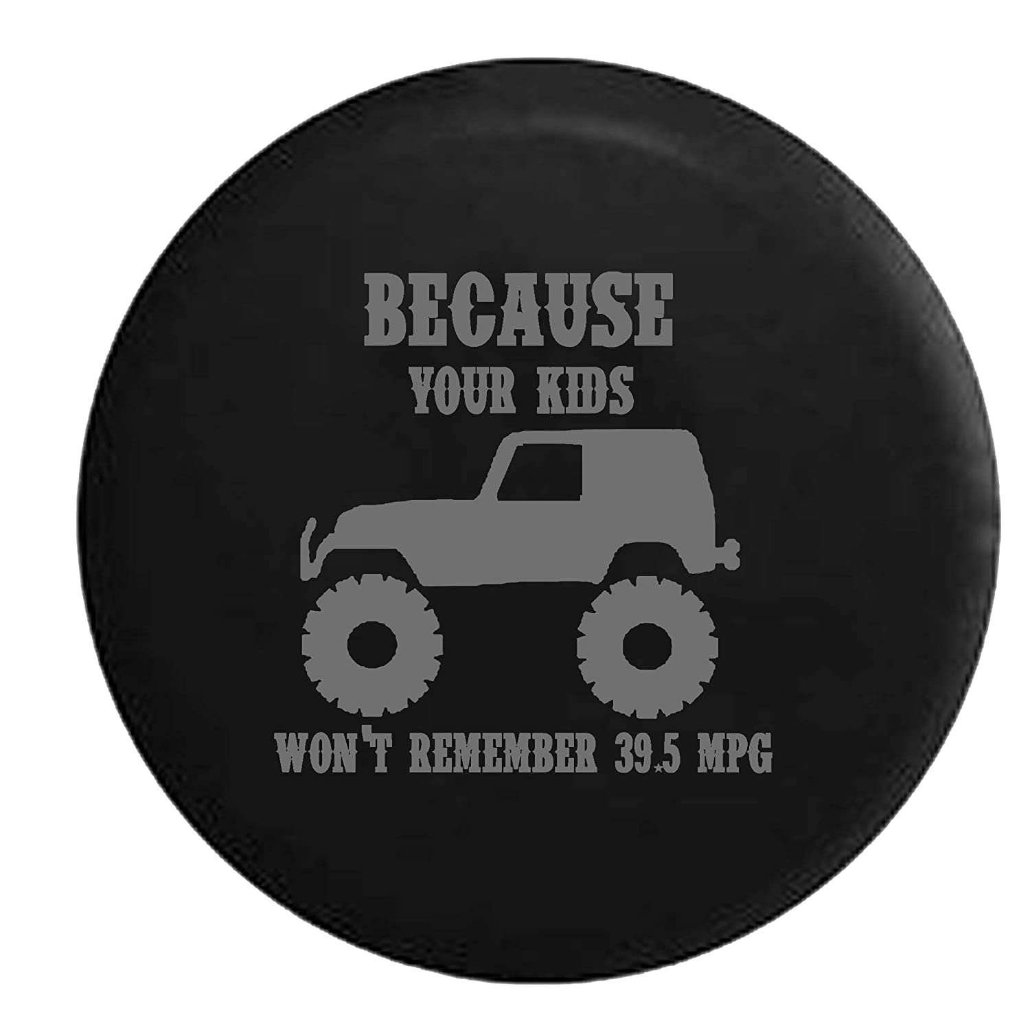 Amazon stealth lifted jeep wrangler because your kids wont amazon stealth lifted jeep wrangler because your kids wont remember 395 mpg spare tire cover oem vinyl black 34 35 in automotive sciox Gallery