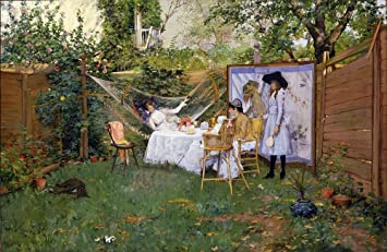 Amazon.com: The Museum Outlet - William Merritt Chase - Open ...