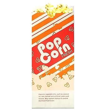 Bolsas de palomitas de maíz (paquete de 100) American ...