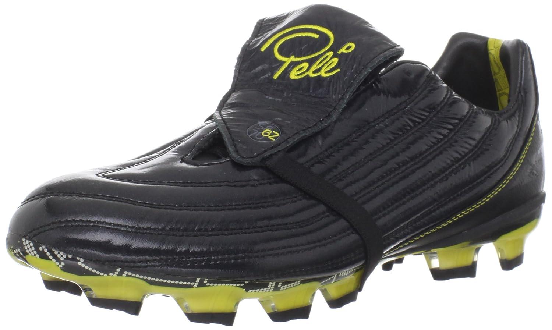 Fussballschuhe Pelé Sports 1962 FG MS in schwarz-gelb Gr  40,5-48, schwarz Yellow, 40.5
