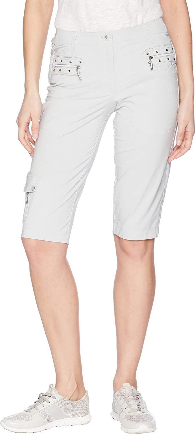 Filament Grey Jamie Sadock Women's Airwear Lightweight Knee Capris