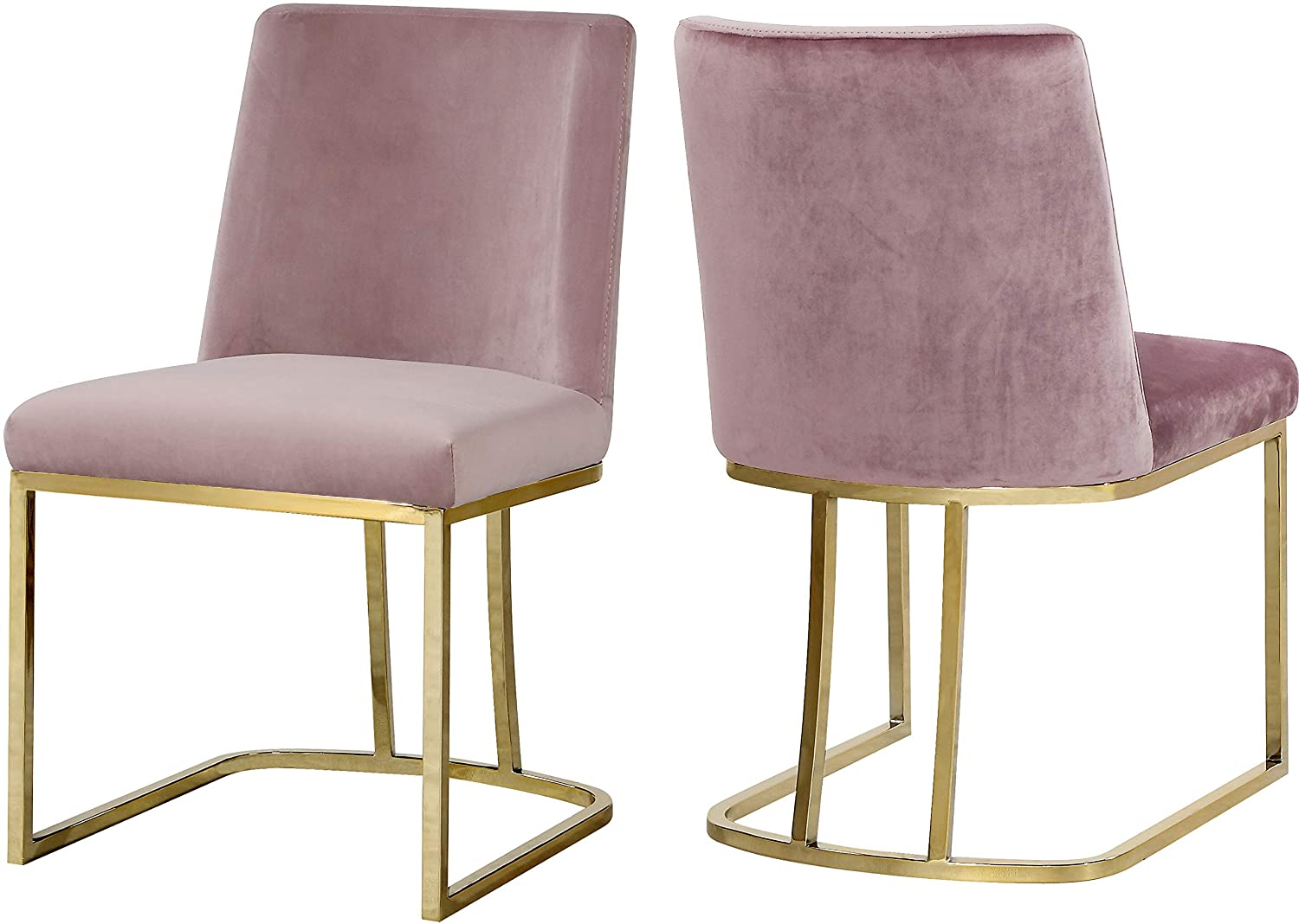 """Meridian Furniture 776Pink-C Heidi Collection Pink Modern 