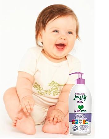 Muss shampoo baby, Romero, Seda, hipoalergenico, no irrita los ojos. hypoallergenic