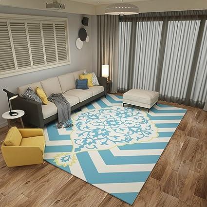 Tappeti decorativi, Tappeto moderno stuoia rettangolare per camera ...