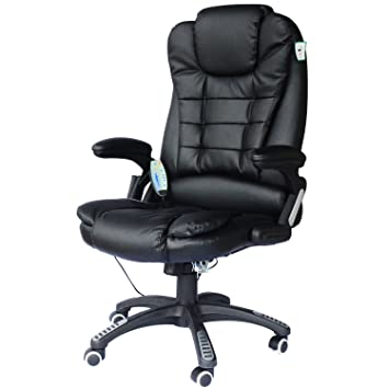 CHAISE DE BUREAU PIVOTANTE FAUTEUIL DIRECTION DE MASSAGE