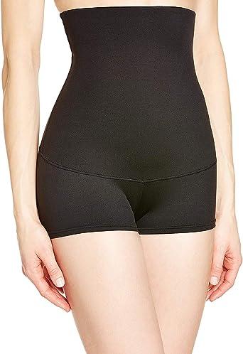 Flexees Womens Shapewear No Slip Hi Waist Firm Control Boyshort