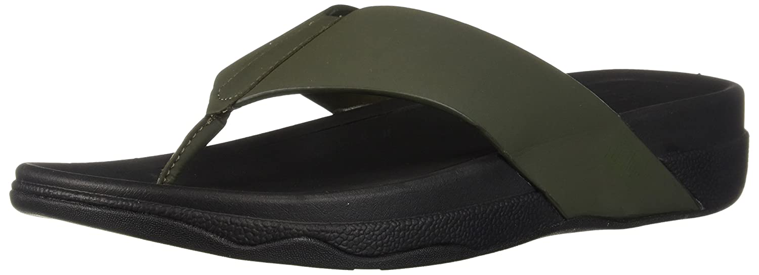 FitFlop Herren in Surfer TM Toe Post in Herren Neoprene Slip On Sneaker Mehrfarbig (Camouflage Grün 476) 74eaa2