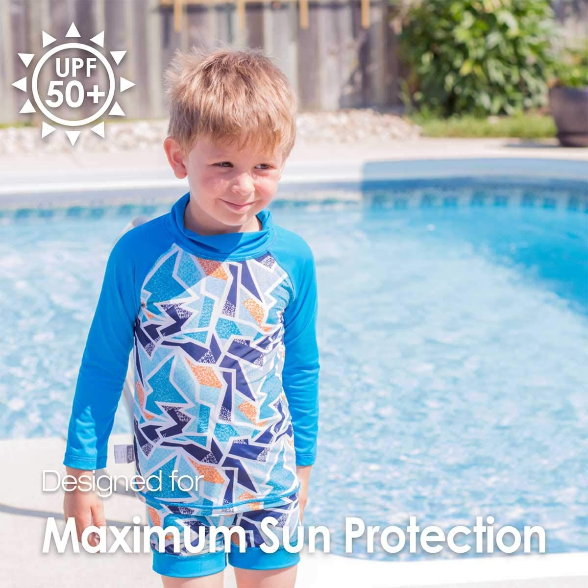 Jan /& Jul Baby Kleinkind Kinder Ausschlag Schutz UPF 50 Sonnenschutz Sonnen-Shirt oder Sonnen-Shirt und Shorts Set