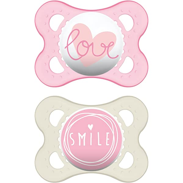 Amazon.com : MAM Pacifiers, Baby Pacifier 0-6 Months, Best ...
