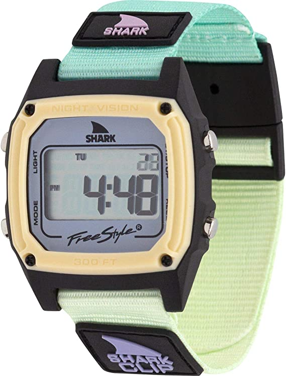 Freestyle Shark Classic Clip Green Tea Unisex Watch FS101059