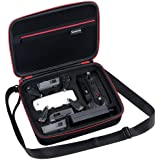 Smatree Carrying Case for DJI Spark Drone Ligthweight Fit for 3 Spark Batteries and Other Accessory