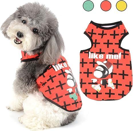 Ranphy Ropa para mascotas para perros pequeños, camisas de ...